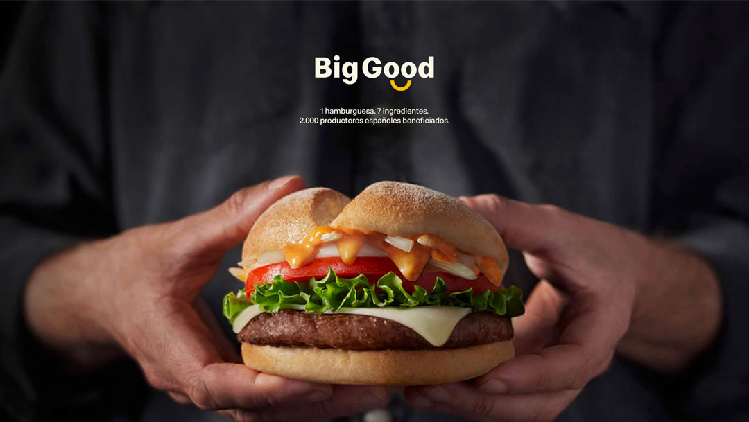 Big Good, la nueva hamburguesa solidaria de McDonald´s