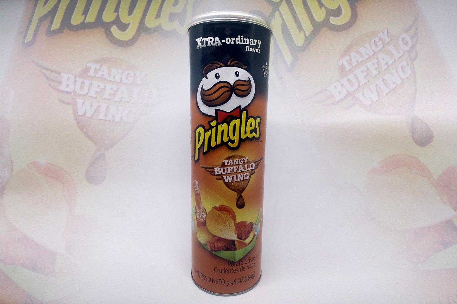 Pringles tangy buffalo win